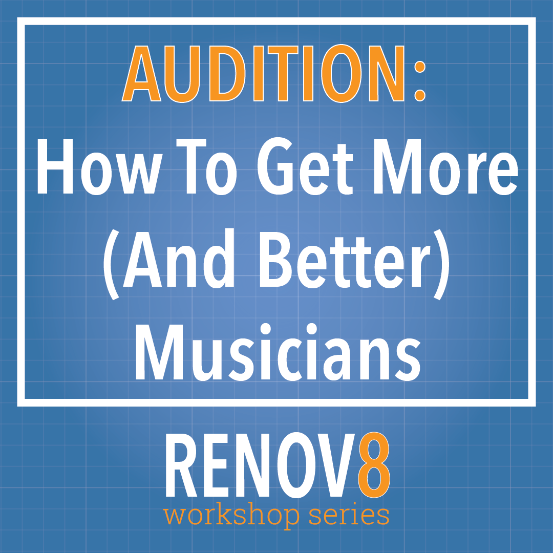 RENOV8 product box - Musicians
