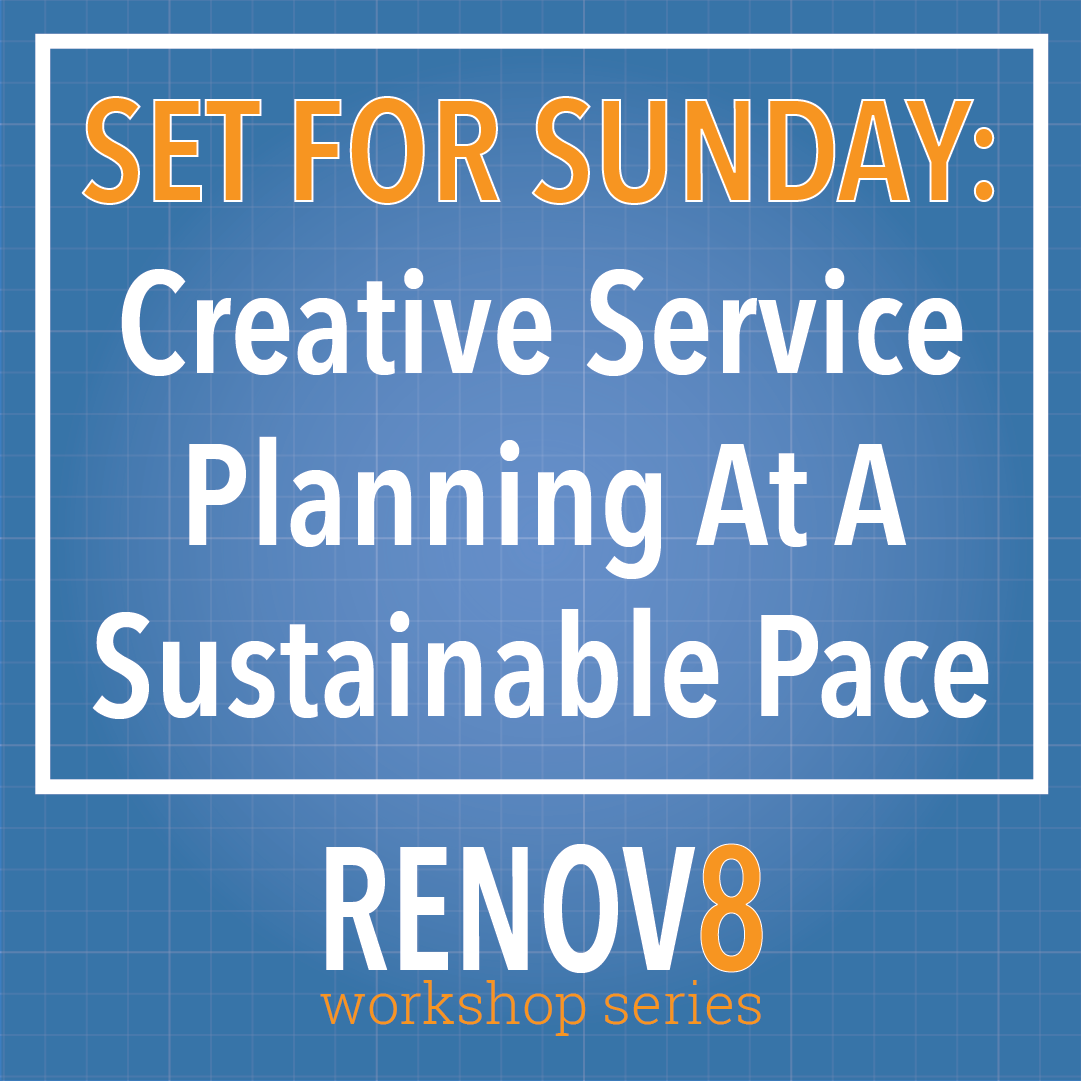 RENOV8 product icon-set for sunday