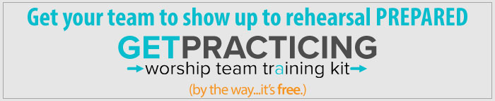 get practicing blog ad