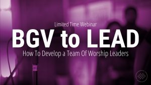 Webinar: BGV to Lead