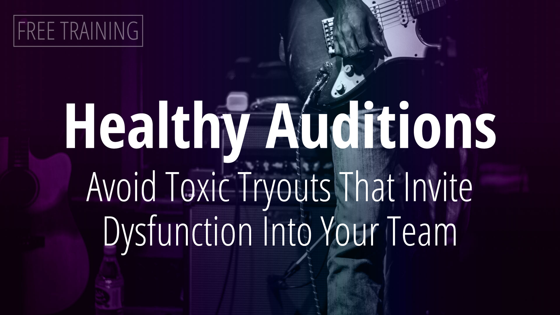 Healthy Auditions