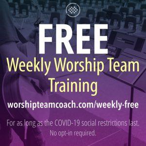 Free Training Weekly