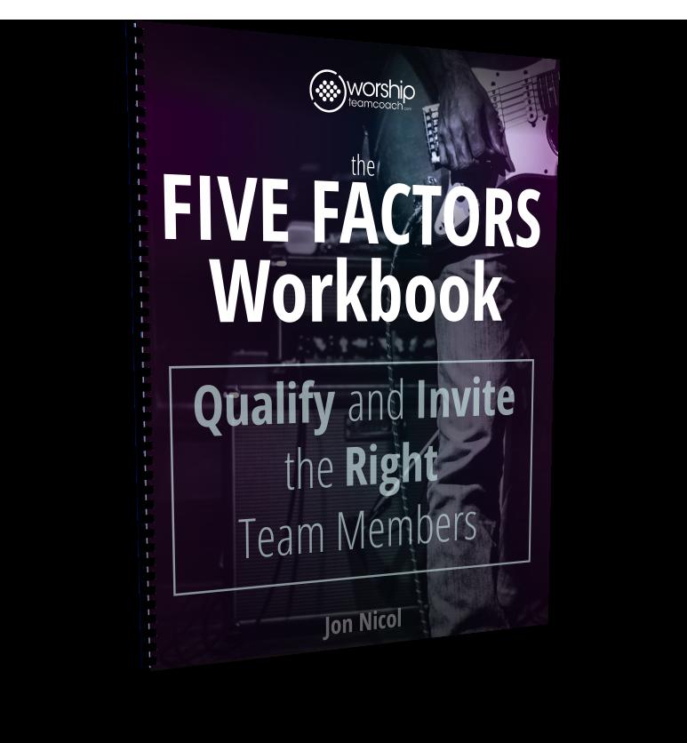 The Five Factors Workbook